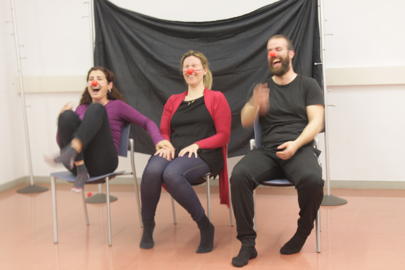 riure benestar salut